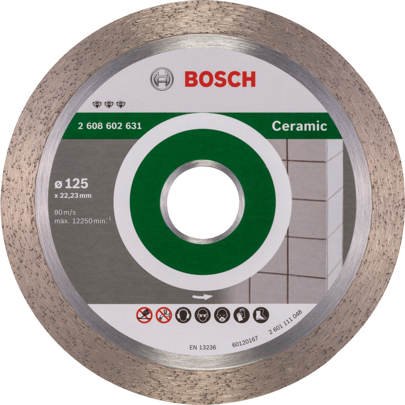 Bosch Best for Ceramic diamantschijf tegels 125x22,2x1,8mm