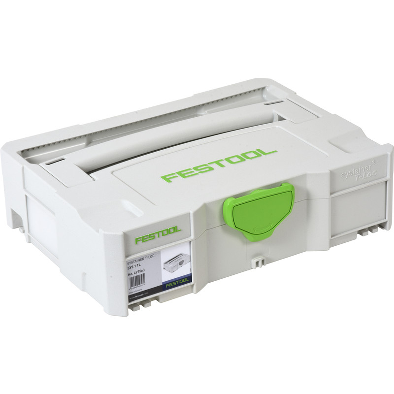 Festool T-LOC systainer SYS 1 TL 396x296x105mm